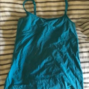 Blue Athletica exercise top